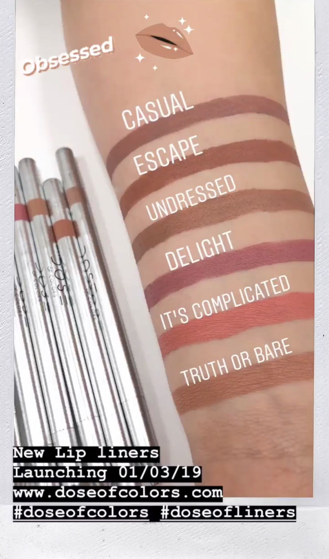Lip Liner by Dose of Colors #3