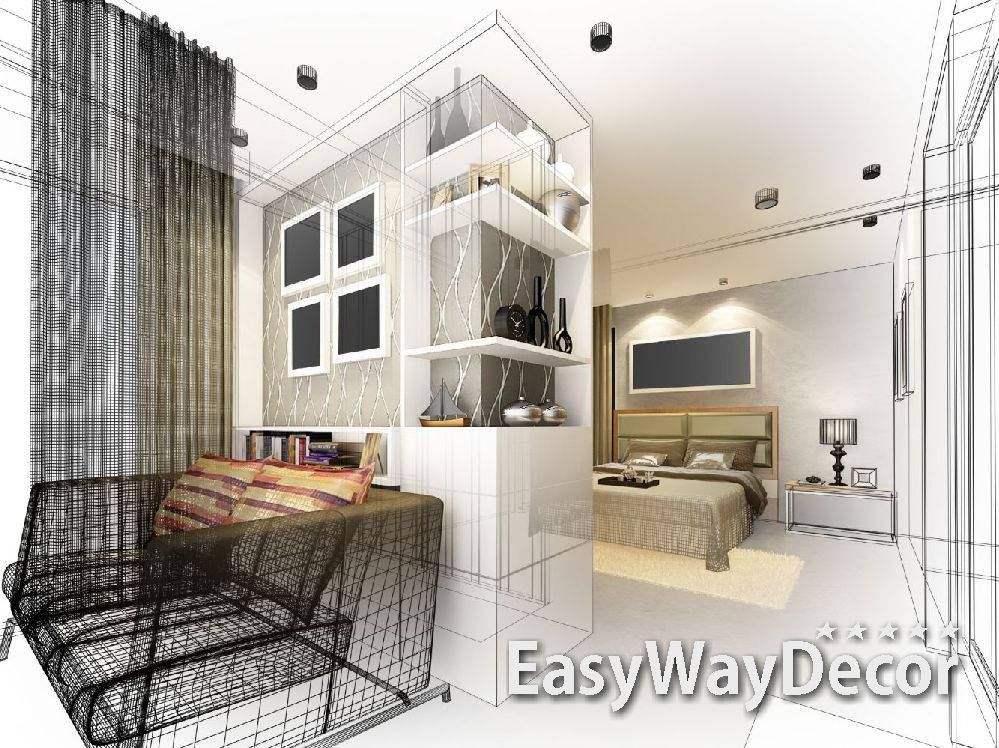 Get best Online Interior Design Service from EasyWayDecor based in
