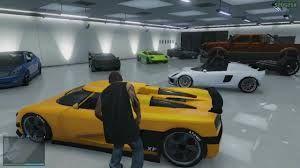 6 Car Garage Filled With Exotic Cars Gta V 5 Gta Gta 5 Grand