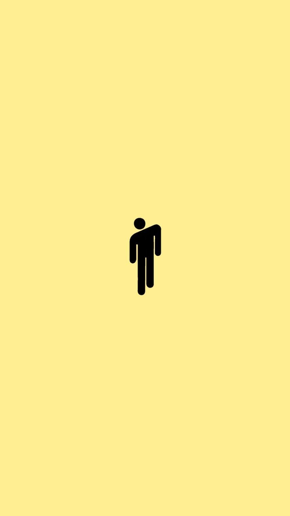 Billie Eilish Blohsh Wallpaper In 2020 Iphone Wallpaper Yellow Yellow Wallpaper Blue Wallpaper Iphone