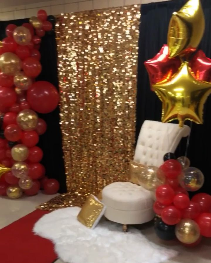 Event Planning Video By Bianca Roland In 2020 Red Birthday Party