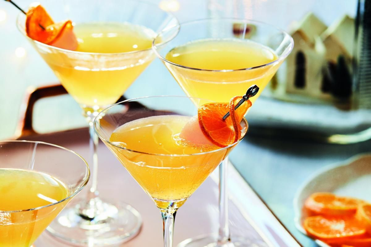 Lychee clementine cocktails are a sweet way to celebrate