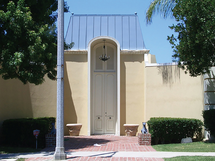 Janet And Byron Reynolds Residence Los Angeles 1953 57 In 2020 Regency Architecture Hollywood Regency American Mansions