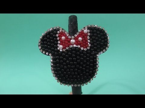 Como Fazer Bico de pato com Perolas ! Tie Pearls ! Lazo Perlas ! - YouTube 6614a32e90e5a