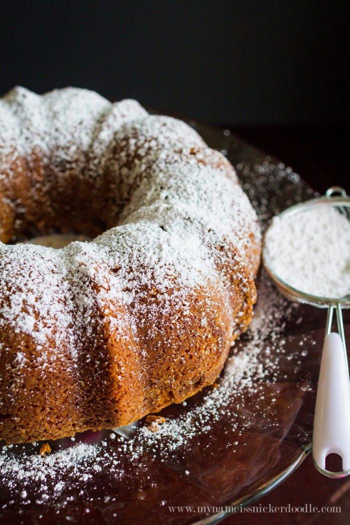 Easy Cinnamon Sour Cream Bundt Cake Recipe In 2020 Sour Cream Cake Bundt Cakes Recipes Desserts