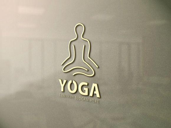 Yoga Logo Yoga Logo Yoga Poster Design Logo Sign