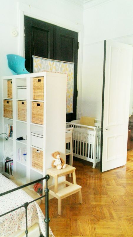 Sharing Bedroom With Baby Decor Ideas And Inspiration Master Bedroom Nursery Shared Bedrooms Apartment Nursery