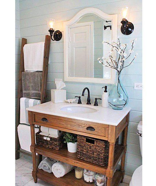 6 Rustic Decor Ideas To Turn Your Bathroom Around
