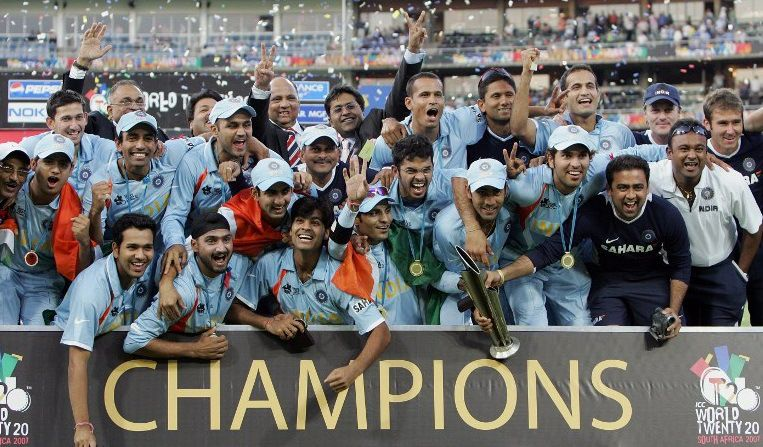 This Day That Year India Became The First Ever T20 Champions 9hues Cricket World Cup Winners World Cup Winners Cricket World Cup