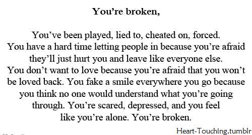 Quotes About Moving On From A Broken Heart