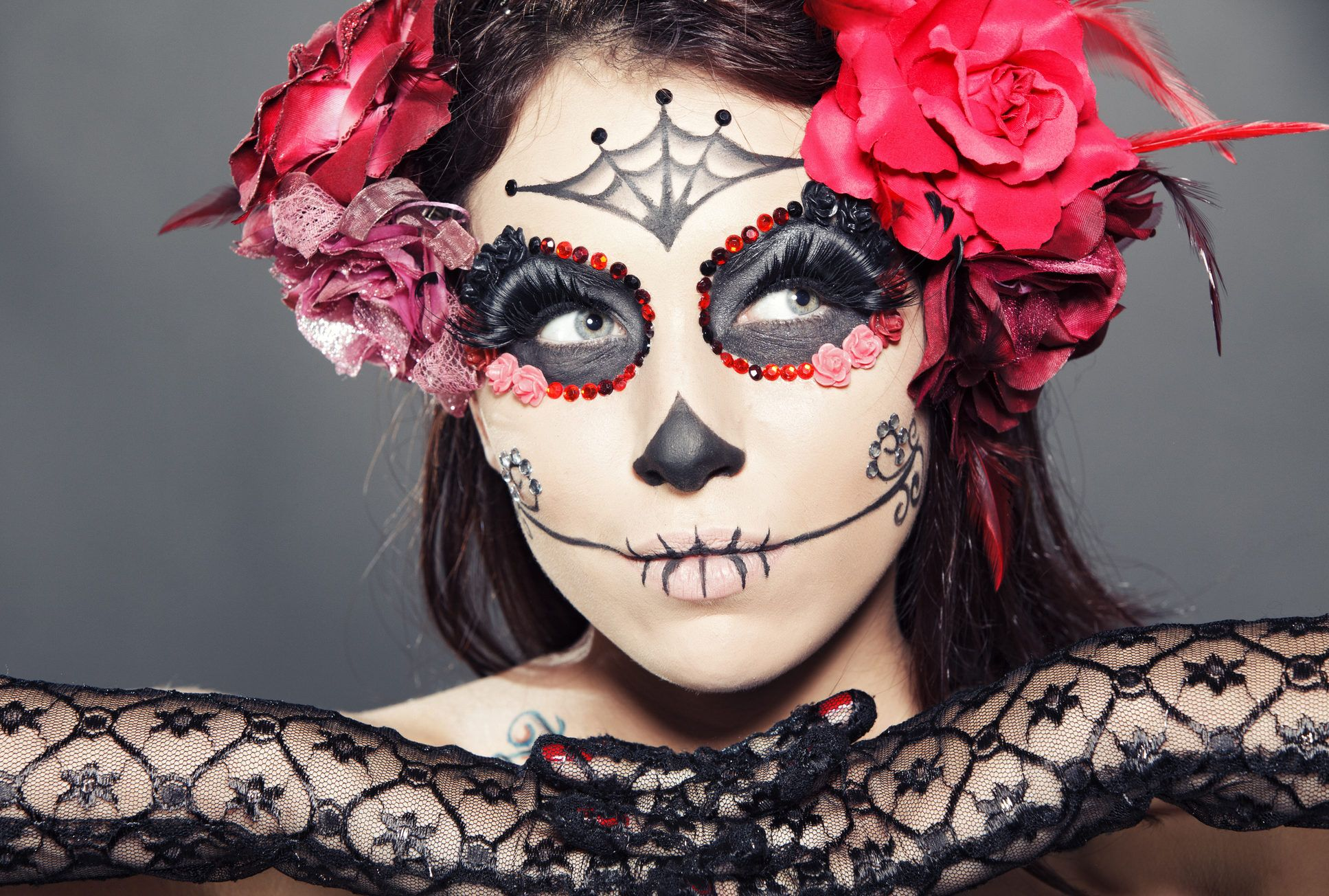 Clown Schminken Suess La Catrina Schminken Easy Make Up Tutorial All Bonez Mottoparty