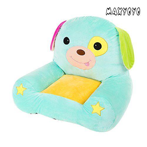 MAXYOYO Cute Dog/Elephant/Frog/Horse Colorful Stuffed Plush Toy Bean