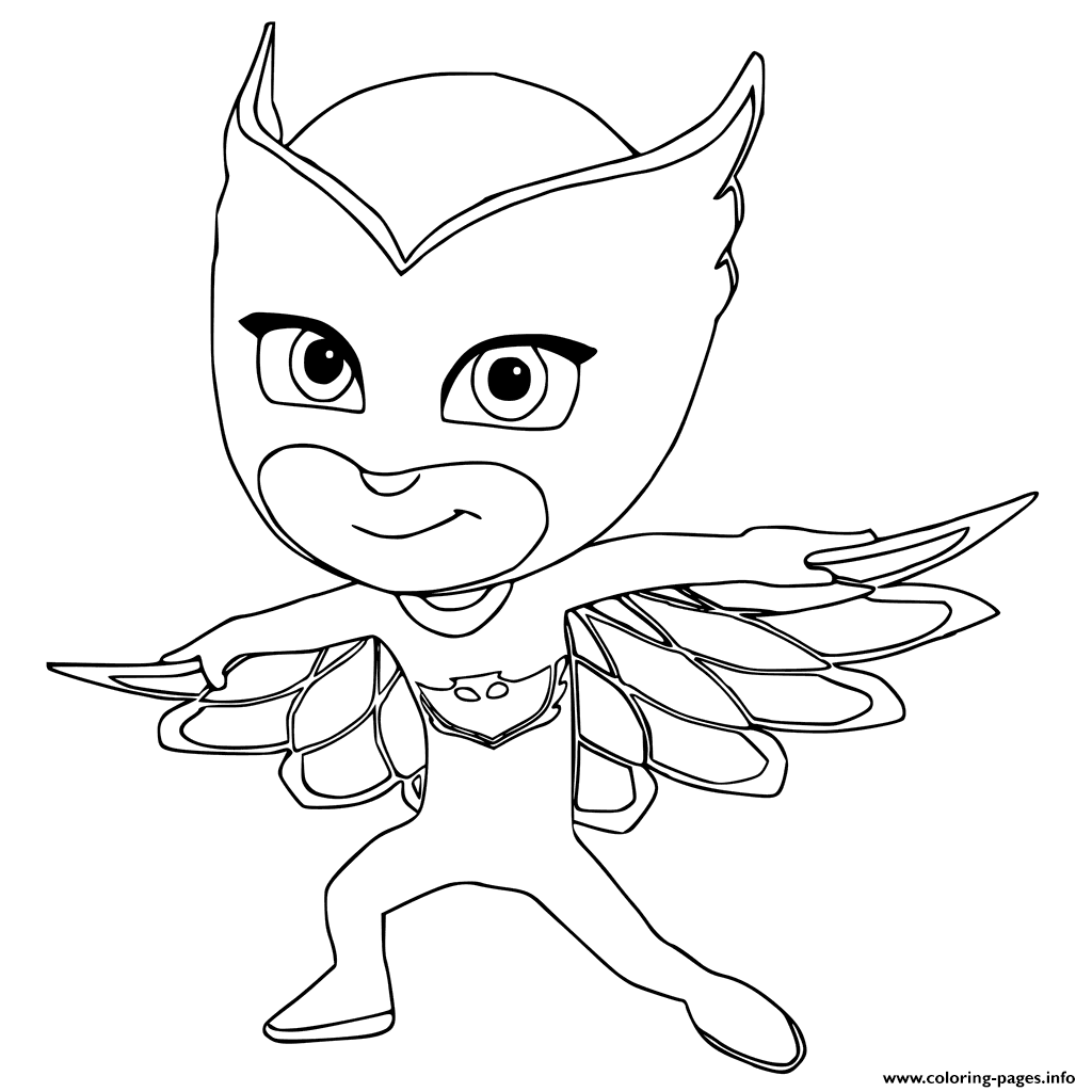 Photo of Owlette Coloring Pages Printable