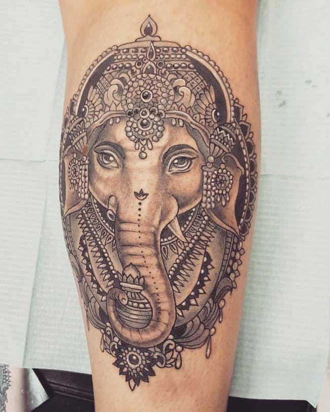 indian elephant...