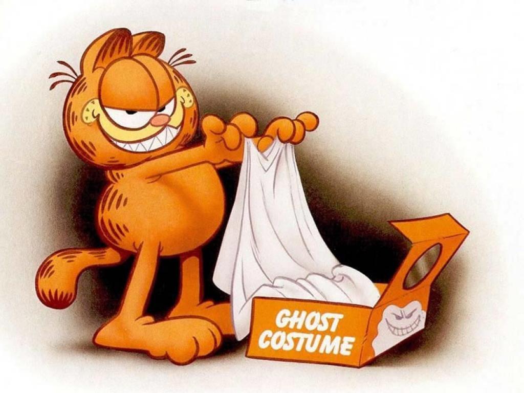 Garfield Fantasma Wallpaper Download | Garfield & friends | Pinterest