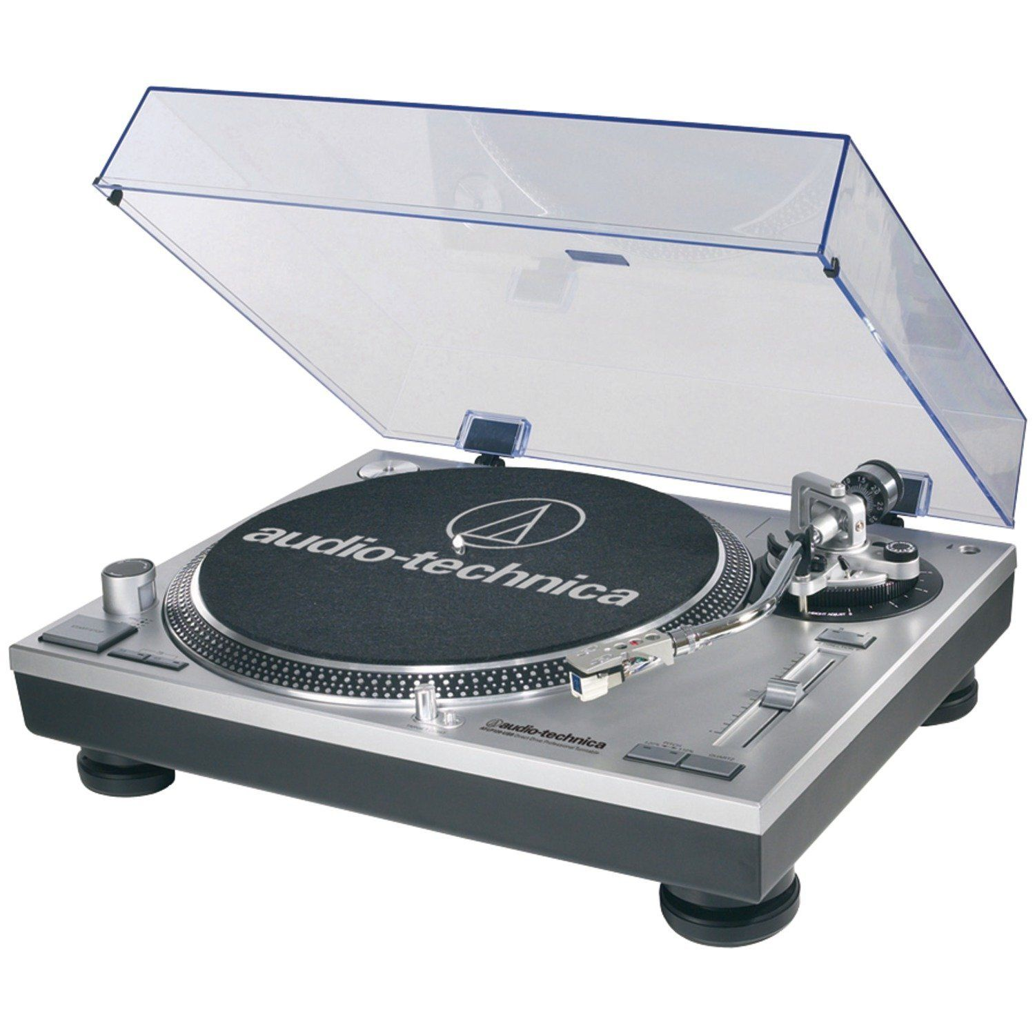 Amazon Com Audio Technica At Lp120 Usb Direct Drive Professional Turntable In Silver Electronics Audio Technica Turntable Usb Turntable Stereo Turntable