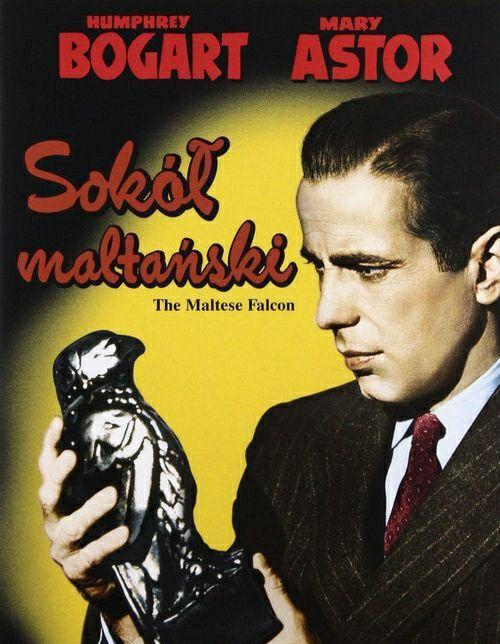 The Maltese Falcon (1941) Polish Movie Poster en 2020
