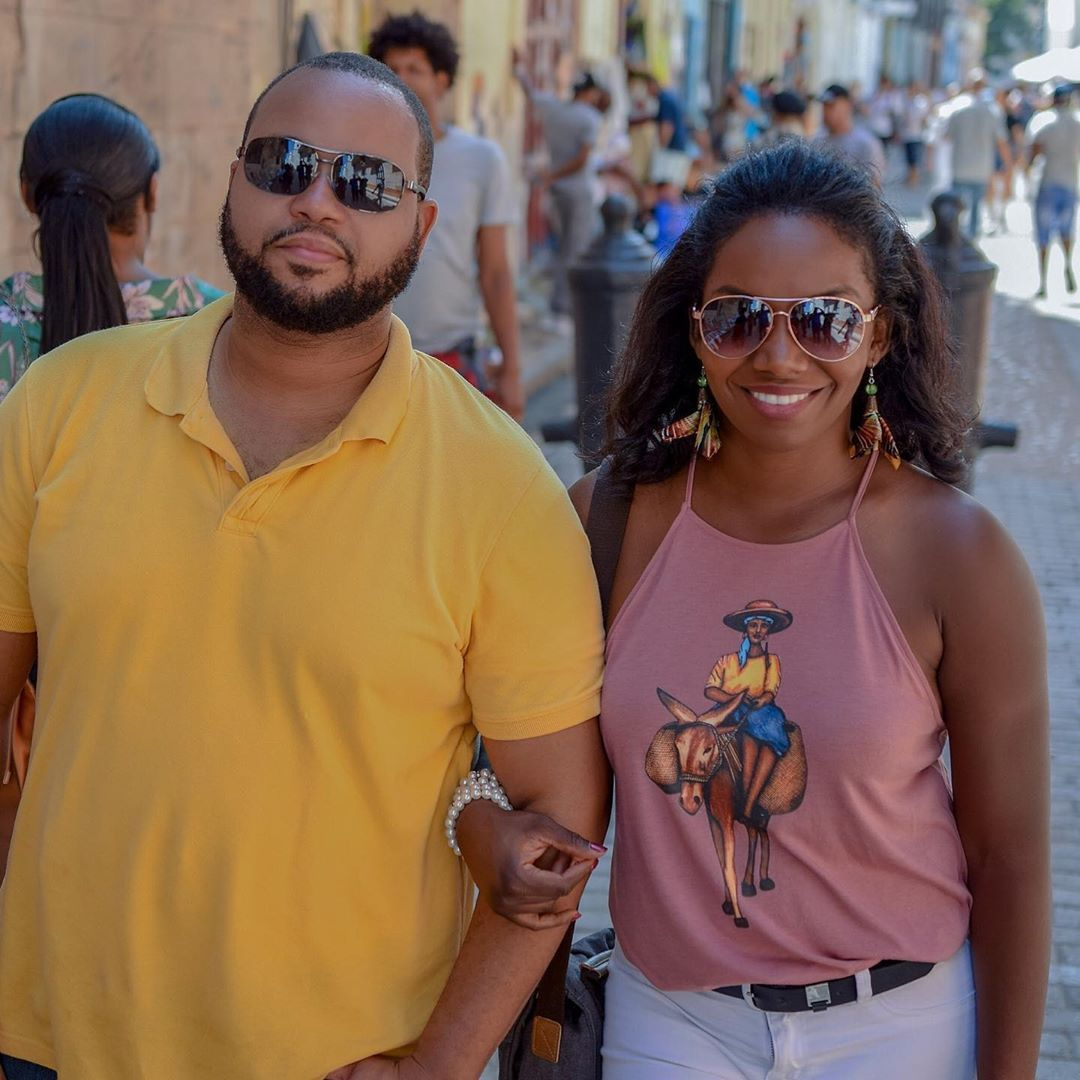"Artistik Crafts on Instagram: ""Visiting Cuba... rocking Artistik Crafts shirt and earrings"