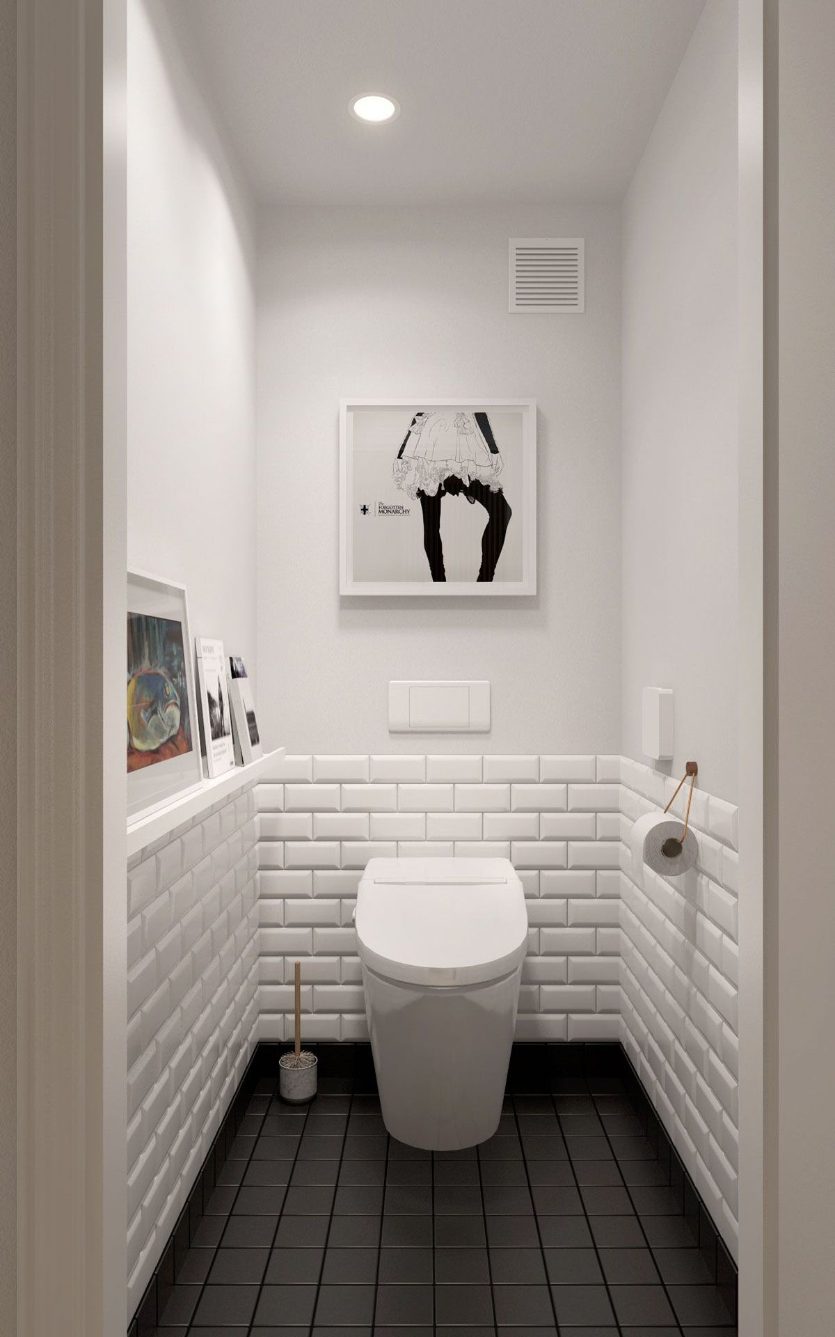 Scandinavian Bathroom Design Ideas With White Color Shade Which Can Inspiring You RooHome