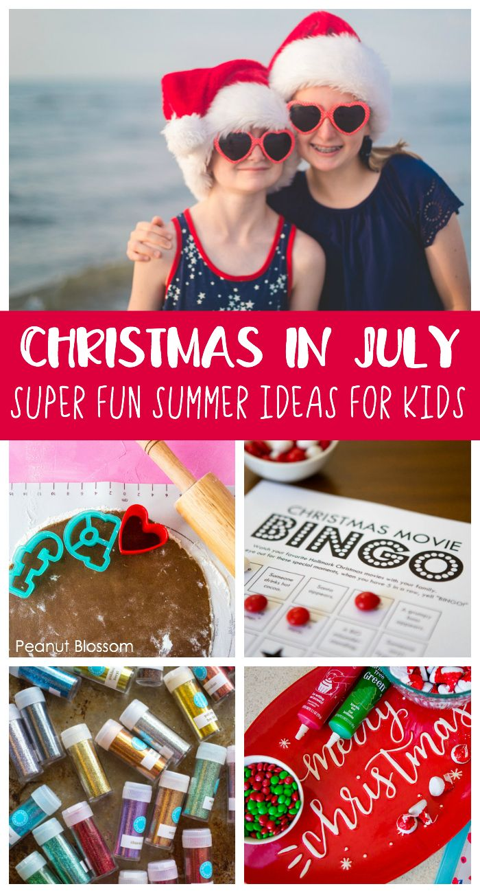 If a Christmas in July Party is wrong, we don't want to be right #holidaysinjuly