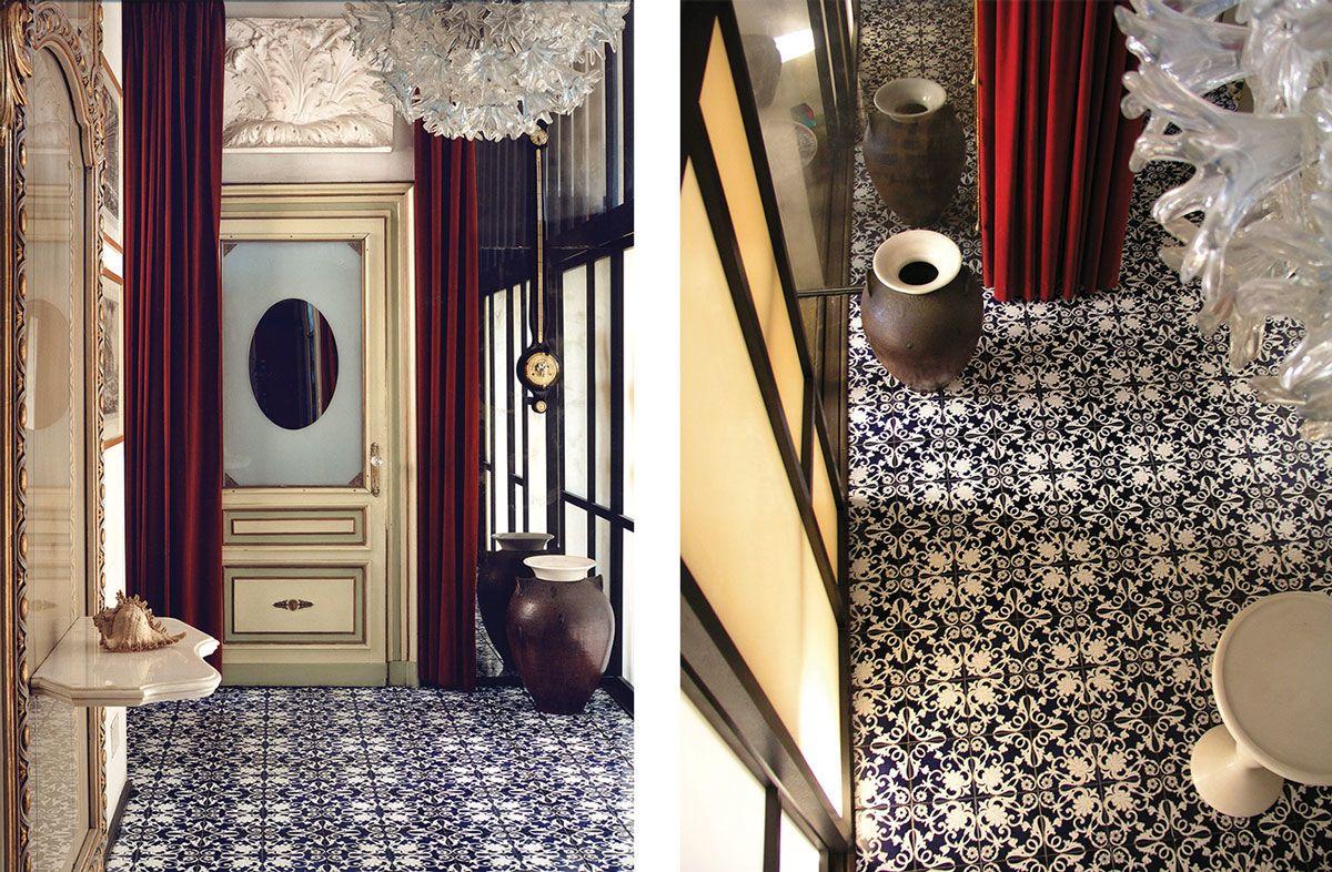 Left Photo By Adam Bartos Right Photo By Fulvio Rosso Photos Courtesy Of Museo Casa Mollino Secret House Wallpaper And Tiles Home
