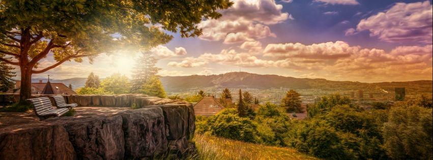 30+ Ảnh bìa đẹp về phong cảnh thiên nhiên | Landscape, Facebook cover,  Linkedin background