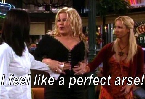 """When you say something you immediately regret.   Community Post: 39 Catchphrases Real """"Friends"""" Fans Use On A Regular Basis"""