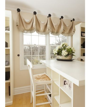 Open Swag Valance For Girl S Room Kitchen Window Treatments