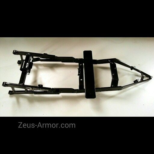 ZeusArmor one piece steel subframes for 09-15 Kawasaki ZX6R and 636 with optional step brace available by visiting our online store (link in profile) #zeusarmor #dowork #kawasaki #636 #stunt #subframe