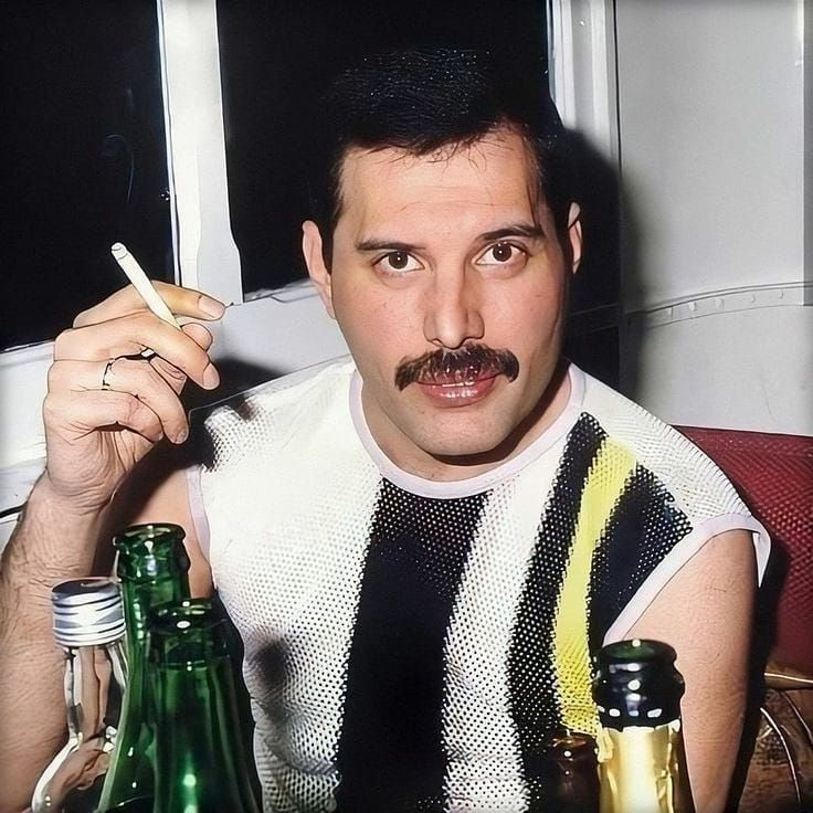 Instagram post by Freddie Mercury • Apr 22, 2020 at 12:07pm UTC