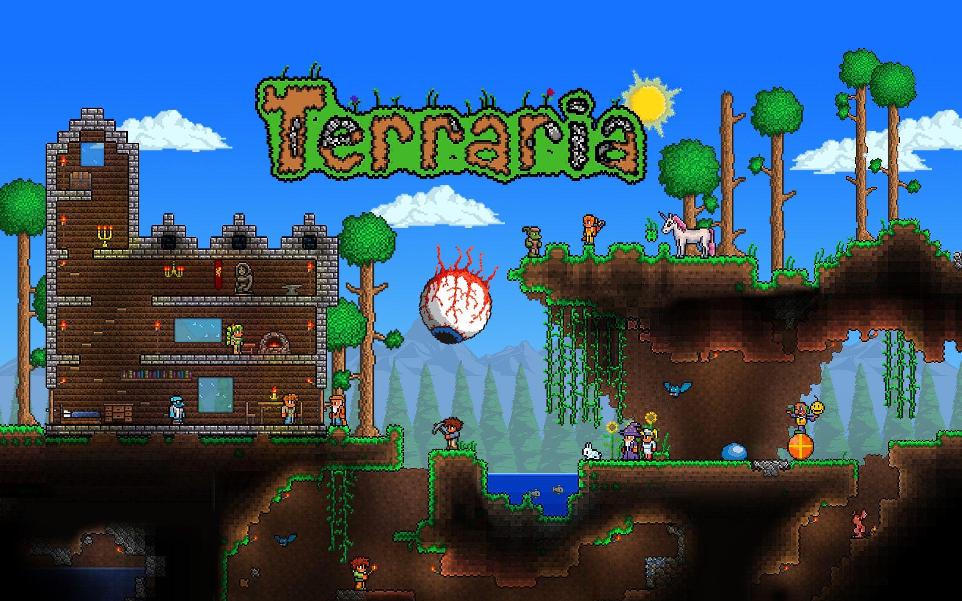 Top Wallpaper Minecraft Terraria - f72828e7c9008f55363e2322e286cff5  Perfect Image Reference_216772.jpg