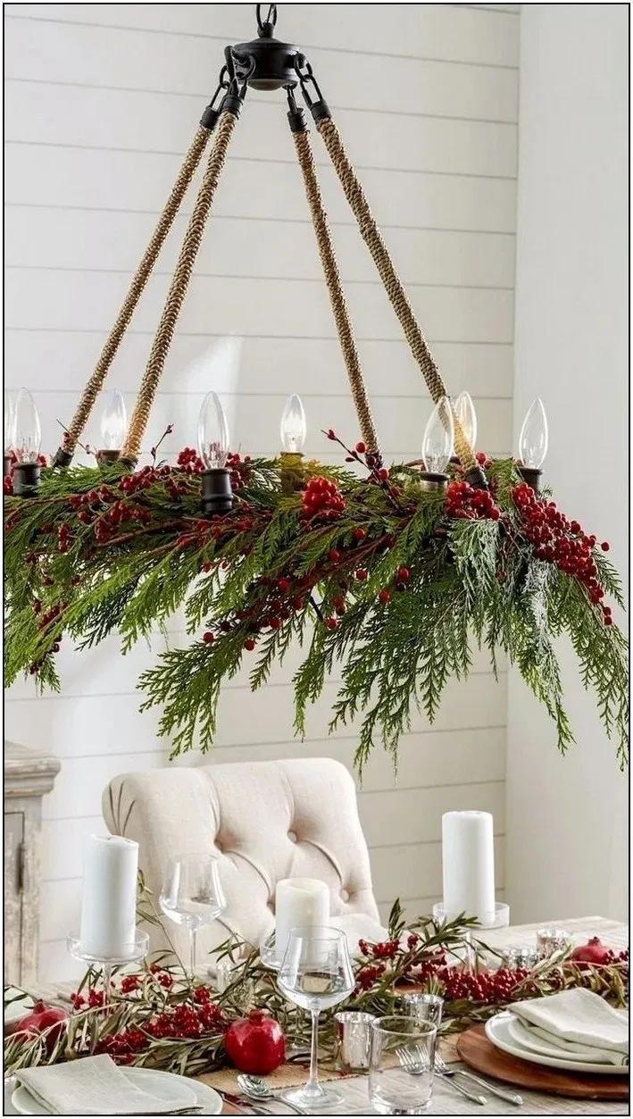 17 Absolutely Stunning Ideas for Christmas Table Decoration 13 #christmasdecorideasforlivingroom
