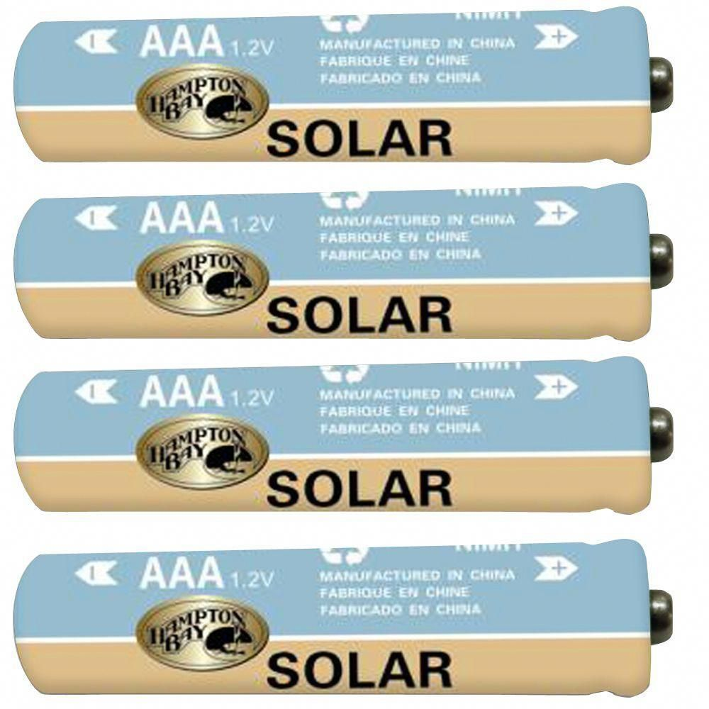 Landscape Aaa Ni Mh Rechargeable Battery 4 Pack Rechargeable Batteries Solar Landscape Lighting Solar Landscape