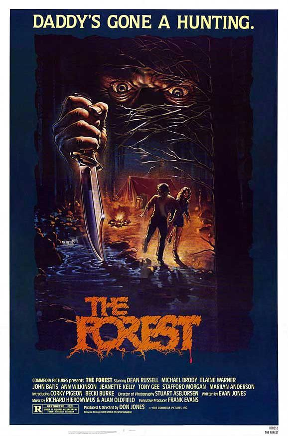 The Forest 1982 Poster Art  Horror Posters, Science -4317