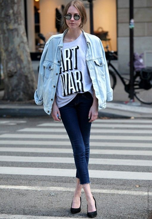 SS 2013 Trends: Denim jackets | Denim jackets, Street styles and ...