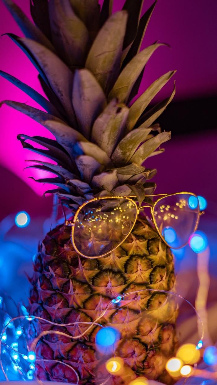 Fond D Ecran Ananas Aux Lunettes De Soleil 2 Fond Ecran Ananas Fond D Ecran Vaporwave Fond Ecran