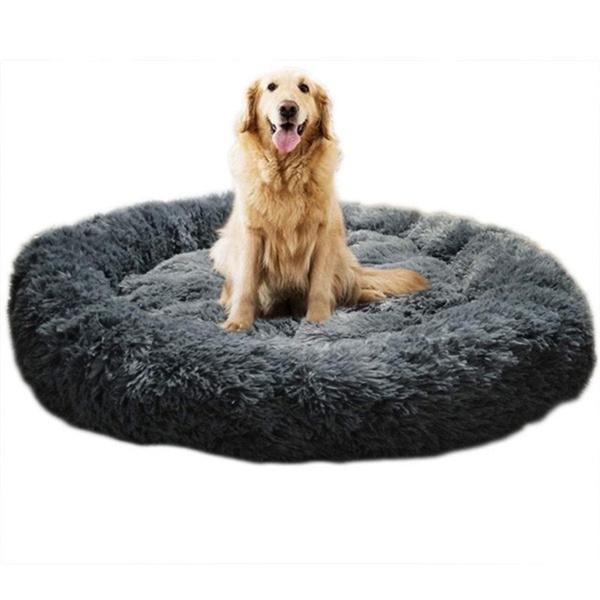 100 Cm Diameter Luxury Extra Large Dog Bed Sofawashable Fluffy Round Winter Dog Bed Wish In 2021 Dog Bed Large Extra Large Dog Bed Dog Sofa Bed
