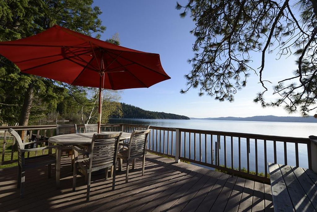 Coeur D'Alene Waterfront Cabin with Beautiful Panoramic