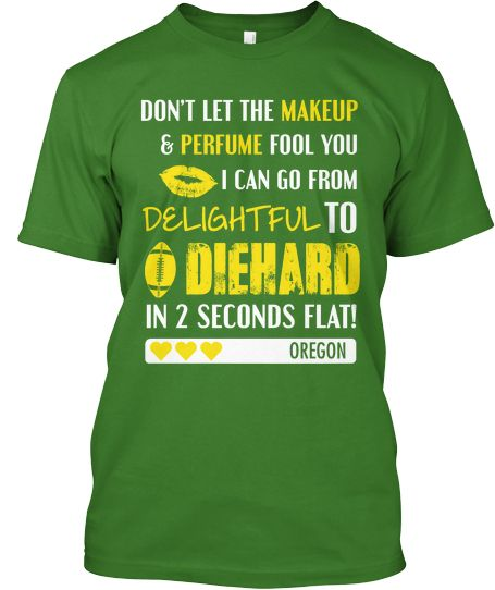 So excited to wear my new O shirt. GO DUCKS!