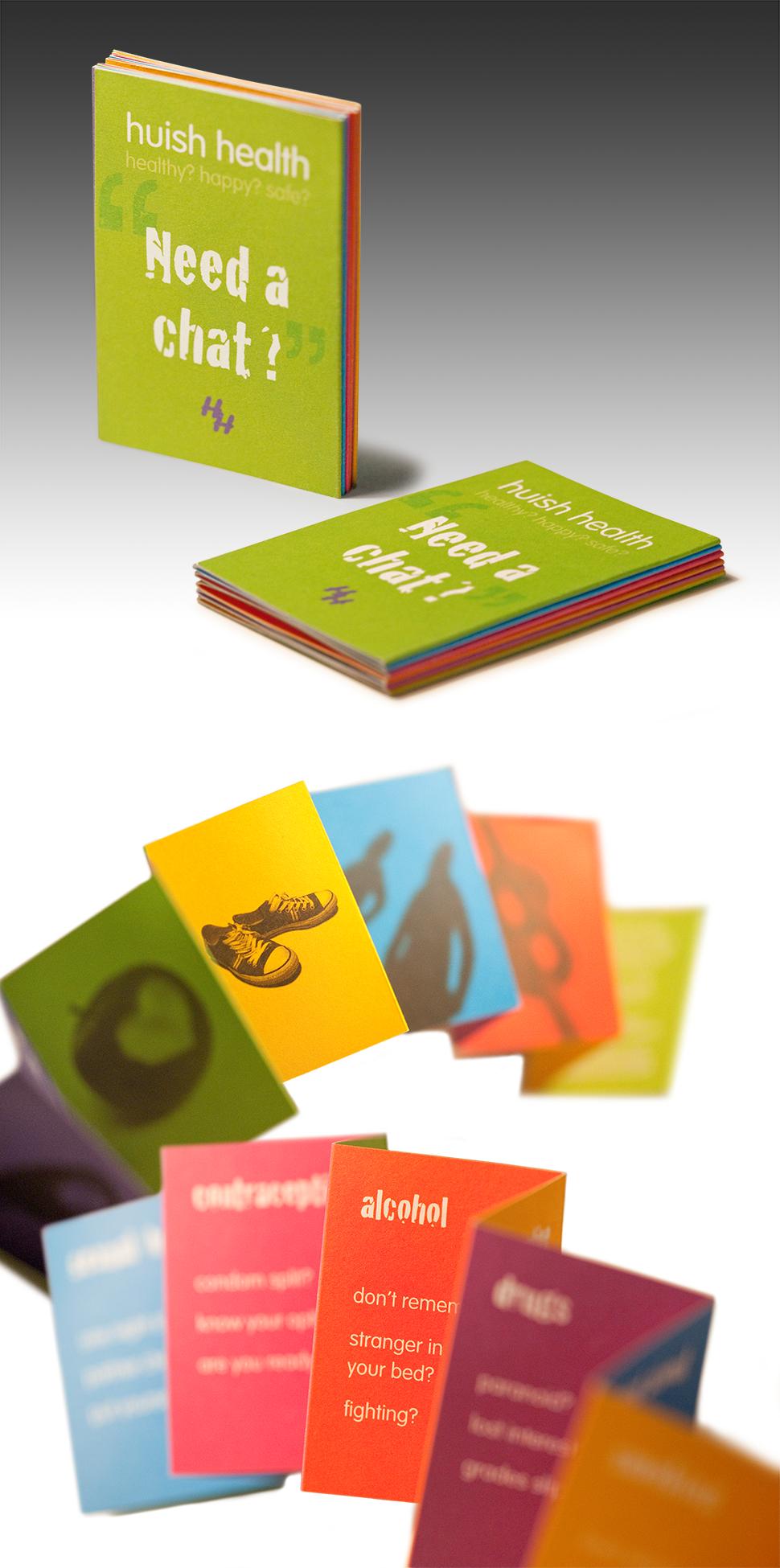 Pocket Sized Leaflet Leaflet Business Card Size Health