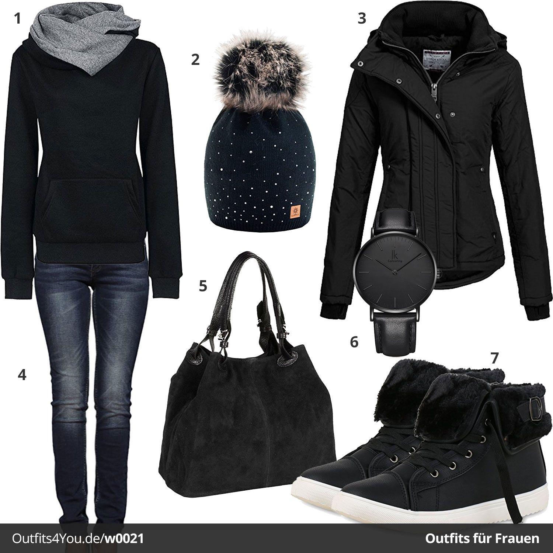 Outfit Schwarzes Für Komplett Outfit Schwarzes Für Frauenw0021Fashion kXwZN8On0P