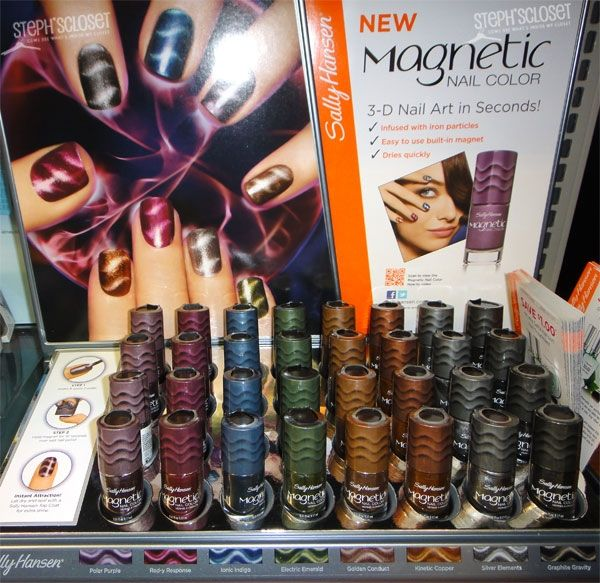 Sally Hansen Magnetic Nail Polish - IT REALLY works ! | My Style ...