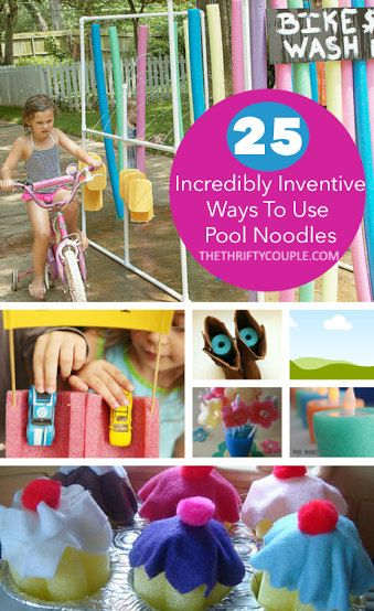 25 Incredibly Inventive Ways To Use Pool Noodles