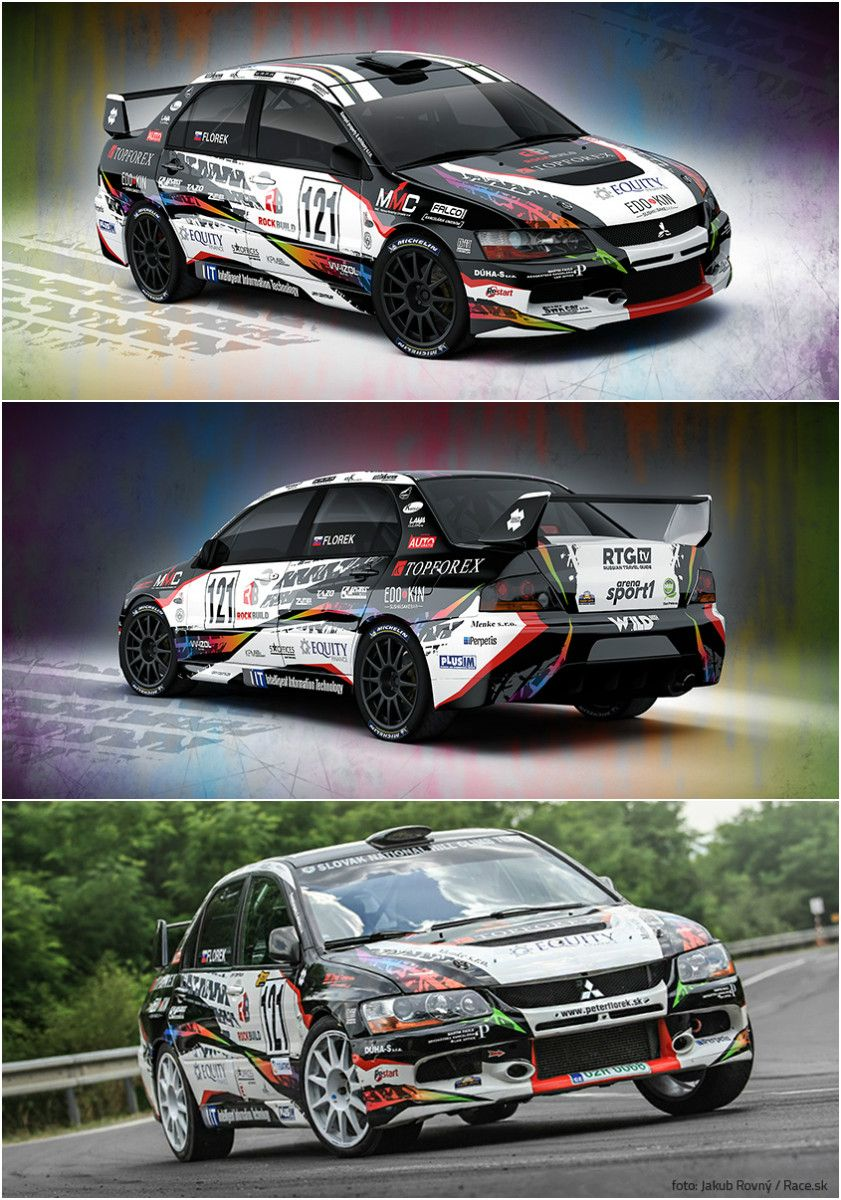 Design and wrap for Slovak racing driver Peter Florek and his ...