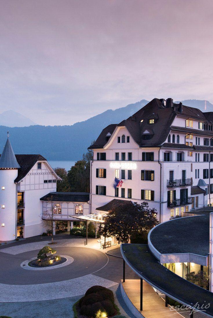 Zauberhaftes Hotel Am Vierwaldstattersee Park Weggis Luzern