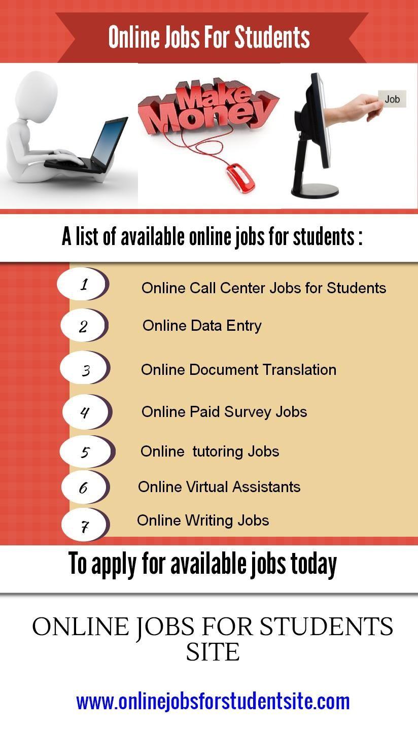 onlinejobsite jobsite Student jobs, Tutoring jobs