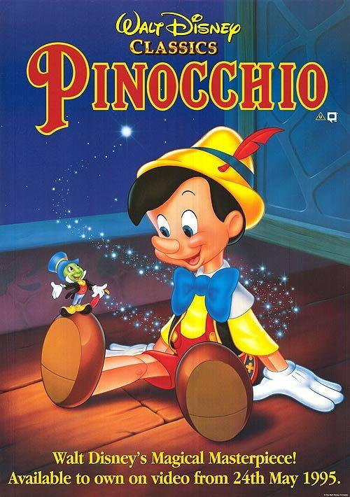 0138-C | Hamilton Luske /Ben Sharpsteen | Pinocchio | 1940 USA