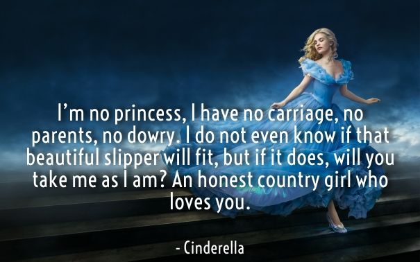Cinderella Love Quotes Awesome Cinderella Movie Quotes 48 Love Images Love Quotes For Her From