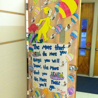 Dr. Seuss door decor! | Dr. Seuss