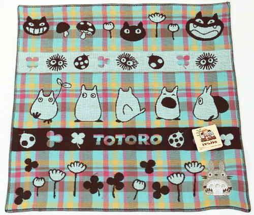 Mein Nachbar Totoro Mini-Handtuch Lachende Gesichter - mrbento.de